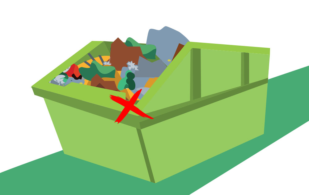 Dont-Overfill-Your-Skip-Bin-Hire